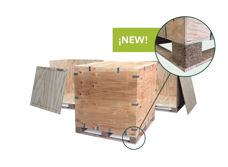 Caja de madera NIMF-15